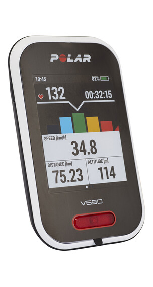 Polar V650 HR - GPS bicicleta - negro